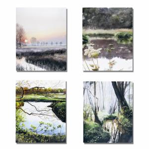 Kunstkaarten Natuur * gratis verzending