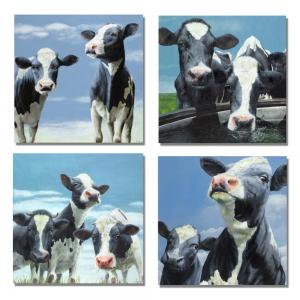 Kunstkaarten Koeien * gratis verzending